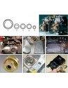 JTC-4493 Набор специальных головок BOSCH 5 предметов для демонтажа винтов топливного насоса ТНВД, купить во Владимире.