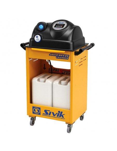 Установка для замены охлаждающей жидкости Antifreeze Changer Сивик КС-121М