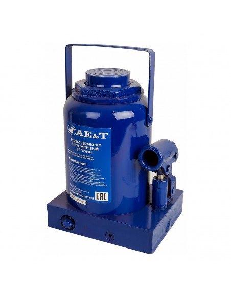 Домкрат гидравлический бутылочный AE&T Т20250 50 т