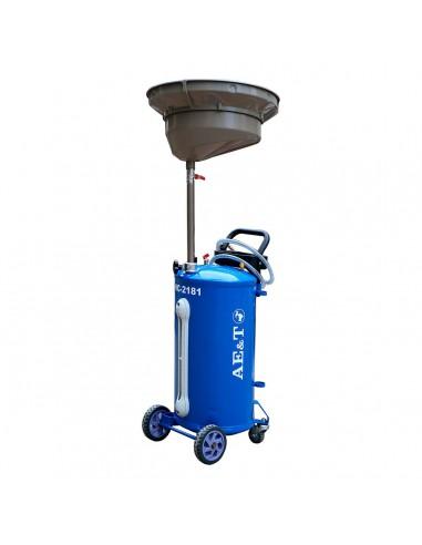 Установка AE&T HC-2181 для сбора отработанного масла емкость 76 литров купить монтаж обслуживание ремонт во Владимире и области.