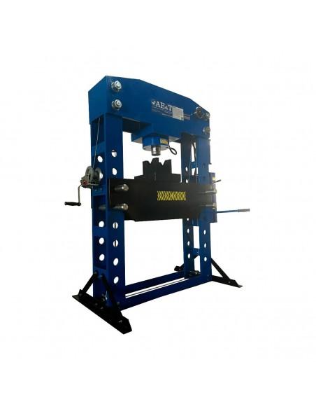 Пресс гидравлический AE&T Т612100А 100 т с ручным и пневмоприводом