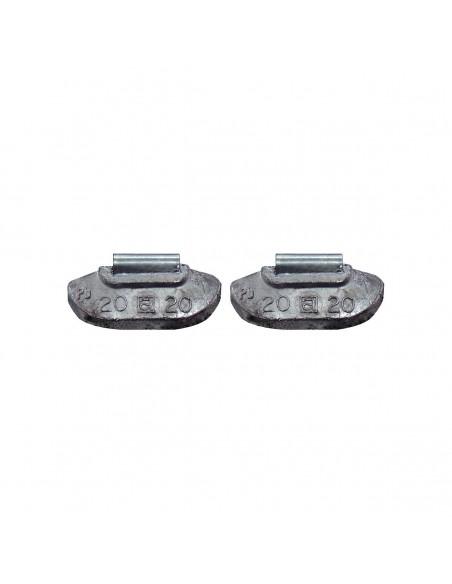 Набивные балансировочные грузики Clipper 0220 для стальных дисков 20 гр