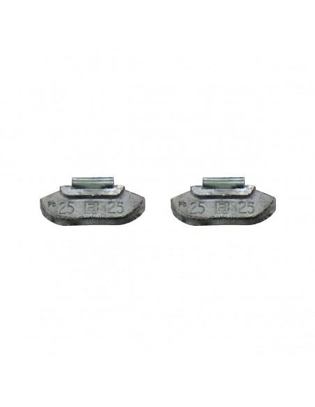Набивные балансировочные грузики Clipper 0225 для стальных дисков 25 гр