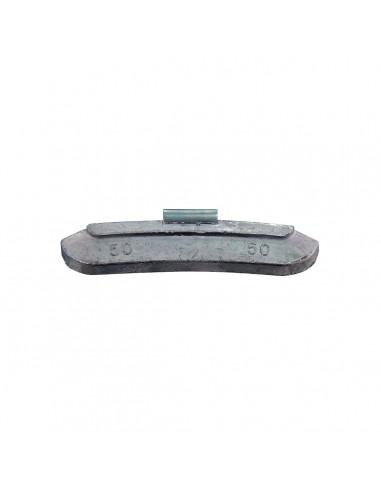 Балансировочные свинцовые грузики 50 гр для стальных дисков легковых легких грузовых автомобилей купить во Владимире и области.
