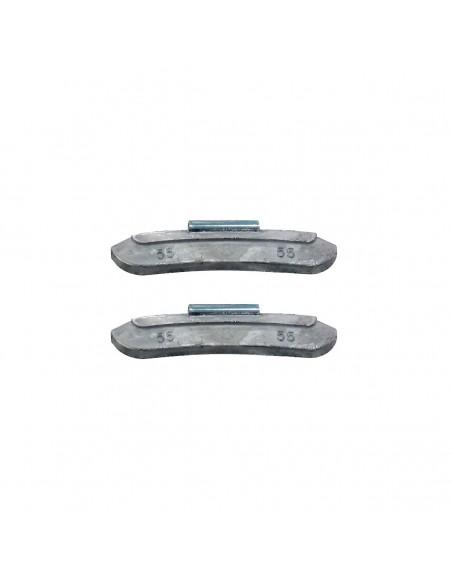 Набивные балансировочные грузики Clipper 0255 для стальных дисков 55 гр