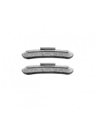 Балансировочные свинцовые грузики 60 гр для стальных дисков легковых легких грузовых автомобилей купить во Владимире и области.
