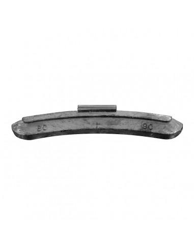 Балансировочные свинцовые грузики 80 гр для стальных дисков легковых легких грузовых автомобилей купить во Владимире и области.