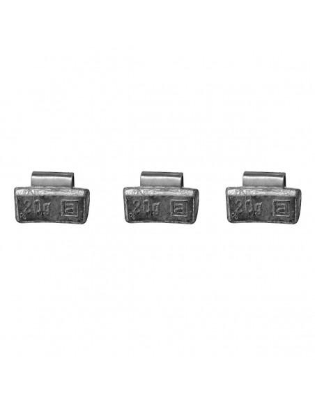 Набивные балансировочные грузики Clipper 0320 для литых дисков 20 гр