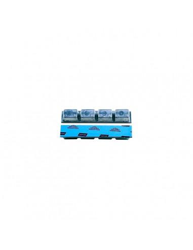 Свинцовые штампованные самоклеящиеся адгезивные балансировочные грузики Clipper 0063 200 гр грузовых колес купить во Владимире.