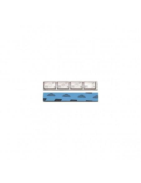Самоклеящиеся штампованные балансировочные грузики Clipper 0065 грузовой 100 гр