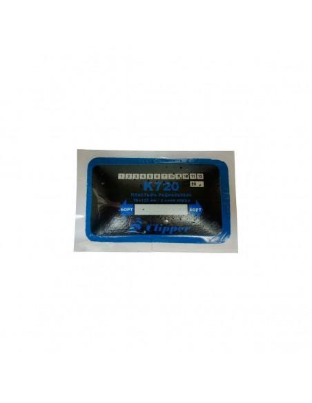 Пластырь радиальный кордовый Clipper K720 76 х 125 мм 2 слоя корда
