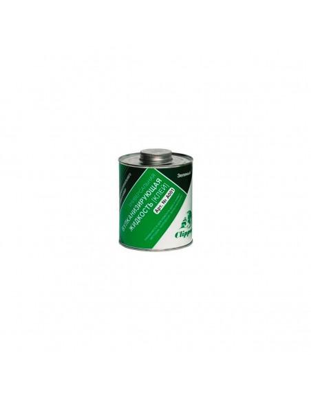 Clipper A001 вулканизирующая жидкость (клей) зеленый 1 л
