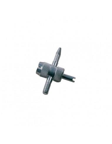 Метчик Clipper T604 для правки и очистки резьбы вентиля стандартного диаметра от загрязнений купить ремонт монтаж во Владимире.
