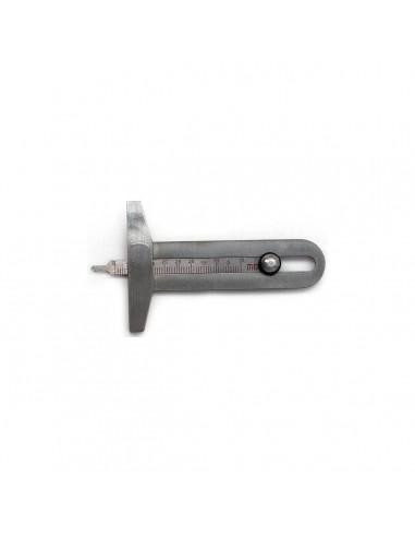 Clipper T617 механический инструмент для определения высоты протектора и степени износа протектора шины купить во Владимире.