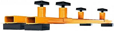 Ножничный электрогидравлический подъемник Сивик ПГН-3000/Н, комплект для подъема рамных автомобилей.
