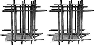 Двухстоечный электрогидравлический подъемник Сивик ПГА-4200-К, комплект фундаментных корзин.