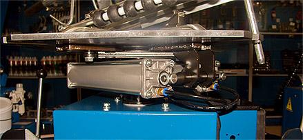 Сивик КС-402А Про 220В - односкоростной привод рабочего стола и пневмомеханизм управления колонной