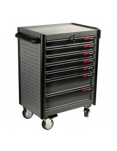 JTC-5021+225 Тележка инструментальная (JTC-5021) 3 секции с набором инструментов 225 предметов купить во Владимире Профессионал.