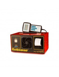 Переносной дымомер ИНФРАКАР-Д 1-3.02 ЛТК для измерения дымности отработавших газов дизельных двигателей купить во Владимире.