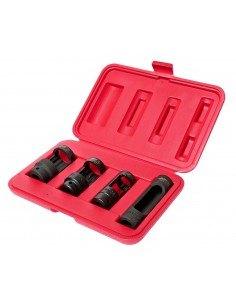 JTC-1543 Набор головок для снятия датчика кислорода системы выпуска 4 предмета 28, 27, 22 мм в кейсе купить во Владимире.