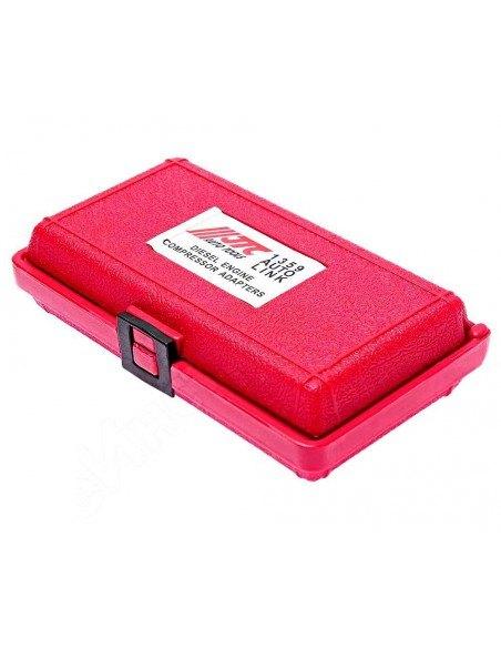 JTC-1359 Набор адаптеров для дизельного компрессометра, используется совместно с JTC-1364, купить во Владимире.