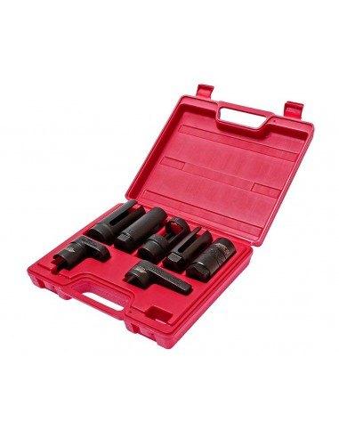 JTC-1425 Набор головок 7 предметов в кейсе для демонтажа датчика кислорода, лямда-зонда, форсунок, купить во Владимире.