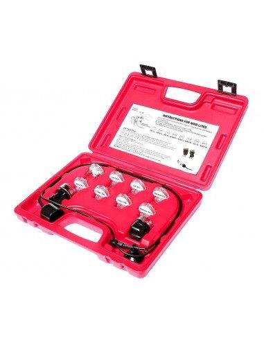 JTC-1251 Набор индикаторов для проверки электронных систем впрыска TBI PFI SCPI в кейсе для GM Форд Ford купить во Владимире.