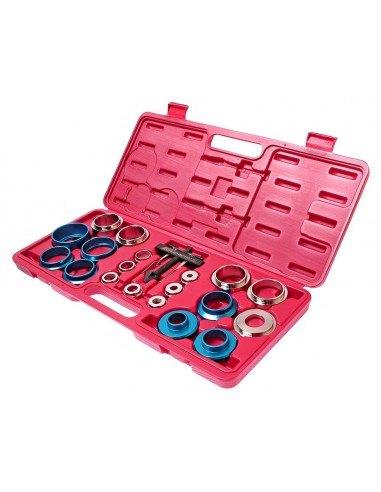 JTC-4901 Набор инструментов для демонтажа сальников коленвала без снятия поддона 20 предметов в кейсе купить во Владимире.