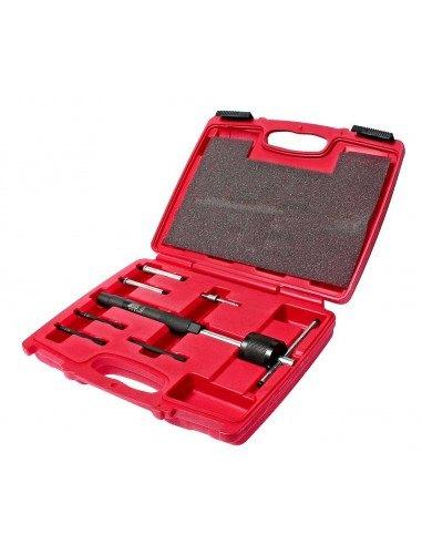 JTC-4052 Набор инструментов для извлечения закоксованных и сломанных свечей накаливания 7 предметов купить во Владимире.