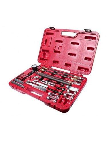 JTC-4294 Набор инструментов для снятия и установки пружин клапанов  и сальников универсальный в кейсе купить во Владимире.