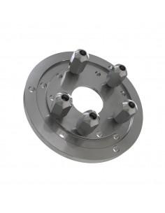 Фланцевый адаптер для установки колес автомобилей КС-211 на балансировочных станках Сивик Sivik 4 диаметра купить во Владимире.