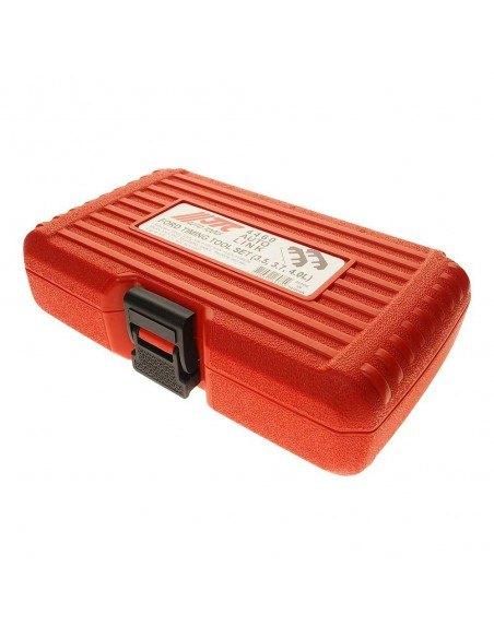 JTC-4460 Набор фиксаторов рапредвалов в ВМТ и натяжителя цепи для установки фаз ГРМ FORD 3.5, 3.7, 4.0 л купить во Владимире.
