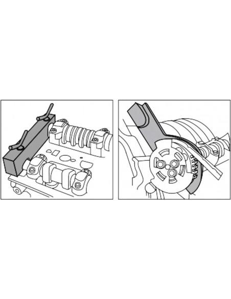 JTC-4244 Набор фиксаторов распредвала для установки фаз ГРМ двигателя LAND ROVER V8 5.0,  JAGUAR купить во Владимире.
