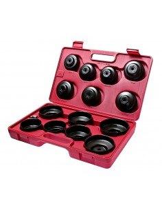 JTC-JW0001 Съемник фильтров масляных в кейсе 14 предметов чашка купить во Владимире Профессиональный инструмент Моторная группа.