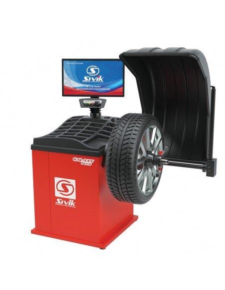 Балансировочный станок Sivik Galaxy Plus СБМП-60/3D Л всех типов легковых колес купить установка ремонт обслуживание Владимире.