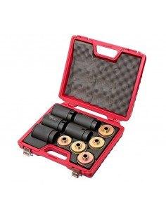 JTC-4831 Набор съемников сайлентблоков под гидравлический привод (в кейсе) купить во Владимире Профессиональный инструмент Ходо.