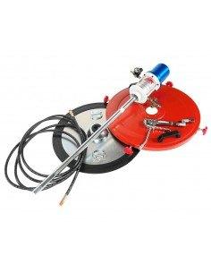 JTC-4254 Нагнетатель смазки (солидолонагнетатель) пневматический для емкости 200л, 30г/ход, шланг 6м купить во Владимире Профес.
