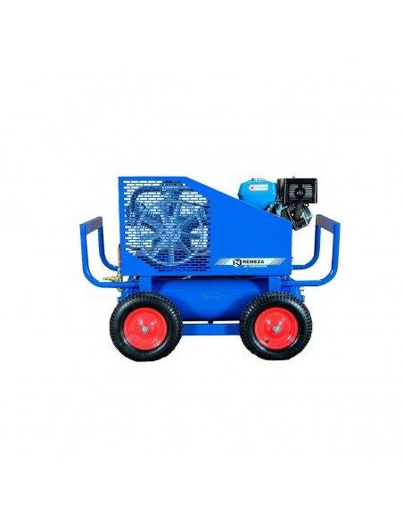 Передвижной компрессор поршневой масляный ременной Remeza СБ4/С-90.LB75 SPE390R с бензиновым двигателем купить ремонт Владимире.