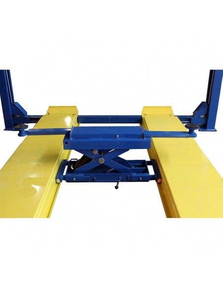 Подъемник четырехстоечный гидравлический AE&T F4.5В-4 для сход-развала 4,5 т траверса 2 т купить установка обслуживание ремонт