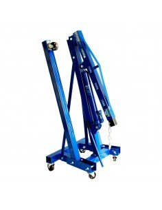 Складной гидравлический кран AE&T T62201 1т для автосервиса мастерской купить монтаж обслуживание ремонт во Владимире и области.