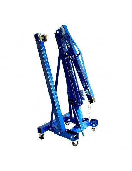 Складной гидравлический кран AE&T Т62201 1т для автосервиса мастерской купить монтаж обслуживание ремонт во Владимире и области.