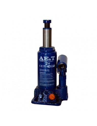 Домкрат бутылочный  гидравлический AE&T Т20202 грузоподъемность 2 тонны купить обслуживание ремонт во Владимире и области.