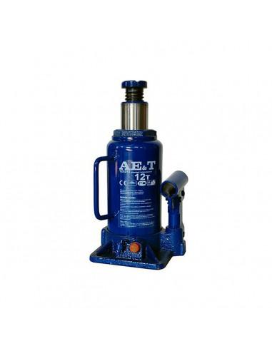 Домкрат бутылочный гидравлический AE&T T20212 грузоподъемность 12 тонн купить обслуживание ремонт во Владимире и области.