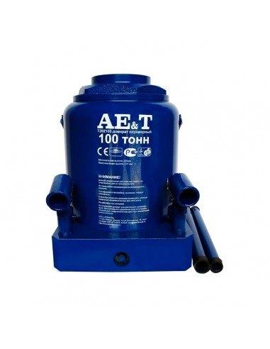 Домкрат бутылочный гидравлический AE&T T202100 грузоподъемность 100 тонны купить обслуживание ремонт во Владимире и области.