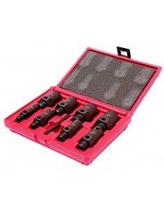 JTC-1361 Набор инструментов для восстановления резьбы штуцеров систем кондиционирования 9 предметов купить во Владимире Професс.