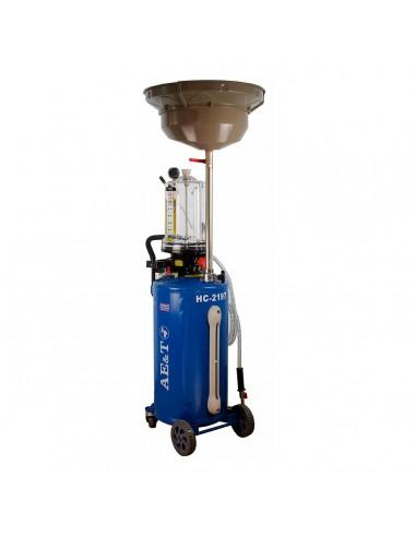 Установка для сбора и откачки отработанного масла с предкамерой AE&T HC-2197 76 л купить монтаж обслуживание ремонт в Владимире.