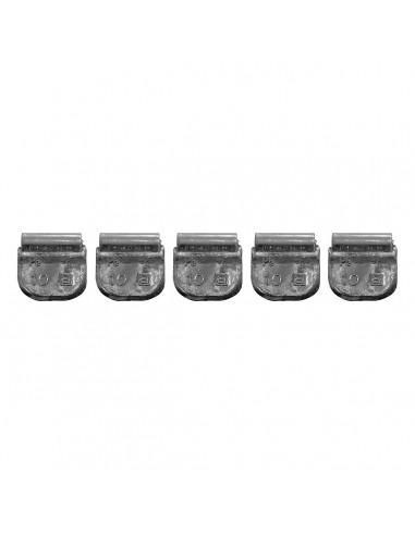 Балансировочные свинцовые грузики 10 гр для стальных дисков легковых легких грузовых автомобилей купить во Владимире и области.