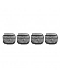 Балансировочные свинцовые грузики 15 гр для стальных дисков легковых легких грузовых автомобилей купить во Владимире и области.