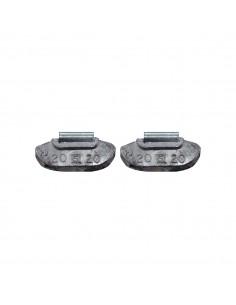 Балансировочные свинцовые грузики 20 гр для стальных дисков легковых легких грузовых автомобилей купить во Владимире и области.