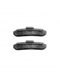 Балансировочные свинцовые грузики 45 гр для стальных дисков легковых легких грузовых автомобилей купить во Владимире и области.